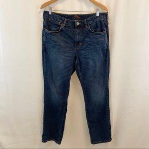 Tommy Bahama Dk Rinse Straight Denim Jeans 36/30
